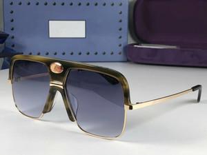 0478 Mode Neue Designer Sonnenbrille Retro Halbrahmen Sonnenbrille Vintage Punk Style Eyewear Top Qualität UV400 Schutz Kommen Sie mit Box