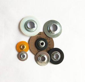 Botones de plástico de metal 5000pcs / 32mm para el disco de cambio rápido