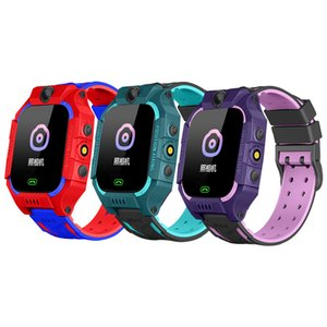 Miniko Kids GPS Tracker Smart Watch SOS Antil-lost Touch Screen IPX7 Smartwatch Baby Waterproof Bracelet Clock Call Camera Phone