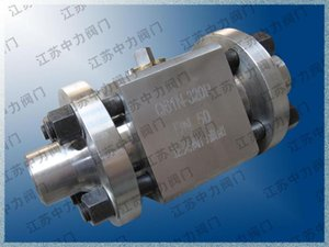 Stainless steel welded ball valve picture Q61N welded ball valve manufacturer
