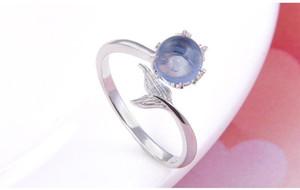 anéis do amante do Dia dos Namorados S925 anéis de prata tamanho stering anel ajustável cúbico anel de zircônia fábrica de jóias vendedor DDS14