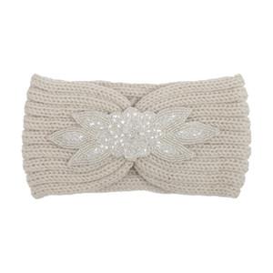 Europe et États-Unis automne et hiver nouveaux cheveux des femmes avec un foret hexagonal perceuse tricoter bandeau en laine tête avec Bohème