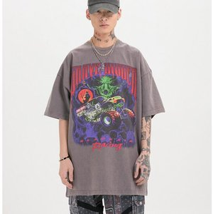 Mens Designer T Shirt Fashion Men Women Tops High Quality T Shirt Black Gray Summer T Shirt Size M-XXL