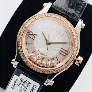 NR Factory Crime Watch Автоматическое механическое движение 30 мм Часы Кольцо с бриллиантным набором Мобильный Алмазный Крокодил Кожаный Ремешок Часы Высокая Ктка