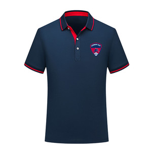 2020 Clermont Football Polo Shirt Hommes de Football à manches courtes polos de mode Sport Formation Polos de Football de football T-Shirt Jersey Hommes Polos