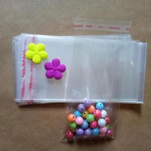 Bag Packaging Hediyeler için 1000pcs / OPP Poly Kendinden yalıtılmış Plastik Şeffaf Selofan Çanta Şeffaf Kendinden yapışkanlı Mühür Plastik Torbalar