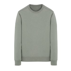 19ss 62751 Felpa girocollo T0PST0NE maniche lunghe T-shirt semplice solido felpa moda Pullover Maglione Sportwear Via