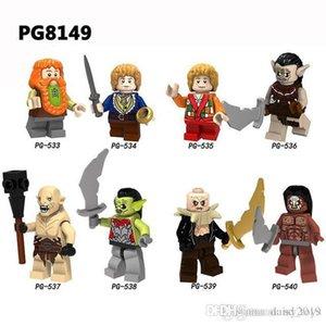 Halkalar Azog Bilbo Güçlü Ork Koleksiyonu İçin Çocuk DIY Oyuncak Hediye PG8149 Of Tek Satış The Lord