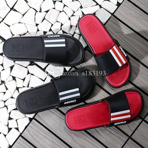 2019 designer slides sandals for men women designer slippers high quality shoes luxury fashion beach flip flops summer