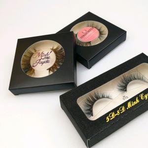 *3D Mink Eyelashes Eye makeup Soft Natural Curling Fake Eyelashes Eye Lash Extension 5D 25mm Mink False lashes Beauty Tools 10 styles Mixed