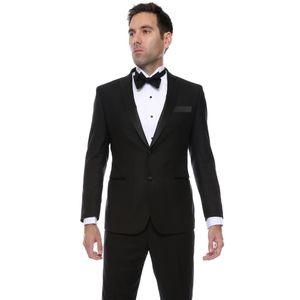 Mens Super Slim Fit Groom Tuxedos 2018 New Groomsmen Mens Wedding Prom Suits Custom Made (Jacket+Pants+Tie+Vest)