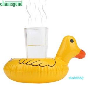 Brinquedo De Banho Pato Amarelo Fofo Bebida Insuflável Flutuante Pode Titular De Um Brinquedo Para Crianças Drop Shipping Fc1