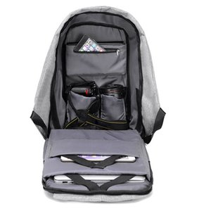 Multifunctional Anti-theft Laptop Backpack With Usb Port Business Style Laptop Notebook Sleeve Case Carry Bag