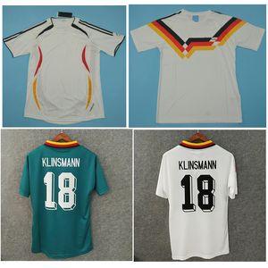 Top 1988 1990 Retro maglie vintage classico Klinsmann Jersey di calcio 1994 2006 Football Shirt MATTHAUS maillot de foot