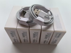 100pcs 7 generations Original OEM quality 1m 3ft USB Data Sync Charge phone Cable With retail package NEW