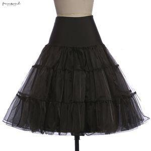 Saia tutu vestido balanço Rockabilly Petticoat underskirt Crinoline macio Pettiskirt Para nupcial do casamento Vintage Mulheres Silps