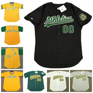 New Oakland Henderson Rickey Jose Canseco Reggie Jackson Dennis Eckersley Walt Weiss Dave Henderson Fingers McGwire Morgan Hubbard Maillots