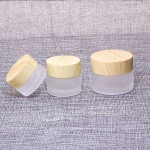 5G 10G 15G 30G 50G 100 g gel en verre Bouteille en verre couvercle en plastique vide Jars pot de crème cosmétique containersNotre à vendre
