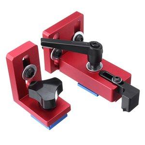 Fixe T-Slot Mitre Track Stop Chute Stopper 30/45 Manuel Travail Du Bois Outils DIY