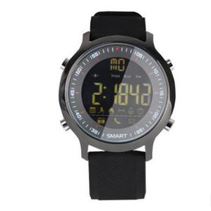 EX18 reloj inteligente de profundidad resistente al agua carga extra larga espera bluetooth motion meter paso mensaje recordatorio A417