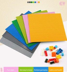 Dots База строительных блоков Baseplate DIY Пластиковые плиты базы Классический кирпич аксессуары Детские игрушки. # FHU