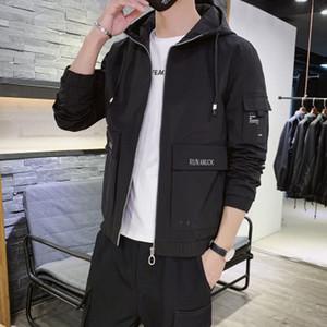 Topstoney CP konng gonng 2020 nuova forma superiore bel tempo libero dei giovani primavera cappotto degli uomini del rivestimento e società di autunno con cappuccio fabbrica di abbigliamento maschile