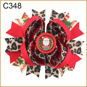 free shipping G group 30pcs fashion Christmas hair bows character bows & korker & funky hair