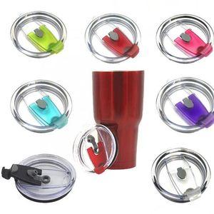스플래쉬 유출 증거 뚜껑 병 커버 20온스 컵 교체 보호에 내성을 증명 커버 뚜껑에 대한 30온스을위한 음료 용기 뚜껑 KKA7743