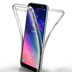 360 Обложка для всего тела Мягкая ТПУ задняя прозрачная крышка чехол для Huawei P30 P20 MATE 20 Pro Lite Y6 Y7 Pro 2019