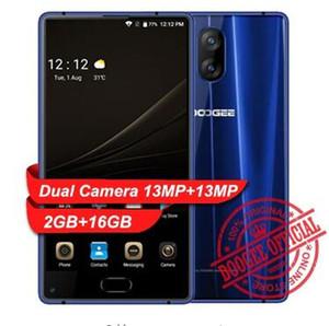 "DOOGEE MIX Lite Смартфон двойная камера заднего вида 2 * 13MP 5.2 "" MTK6737 Quad Core 2GB + 16GB Android 7.0 3080mAh отпечатков пальцев мобильный телефон"