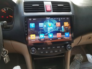 "4GB + 64GB PX5 10.1"" Android 8.0 Araç DVD GPS Honda Accord 7 2003 2004 2005 2006 2007 Car Stereo Radyo Bluetooth WIFI Ayna-bağlantıdan"