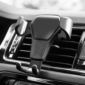 Support de téléphone de voiture pour téléphone dans le support de ventilation de voiture air Stand No Magnetic Mobile Phone Holder Universal Gravity Smartphone Cell Support