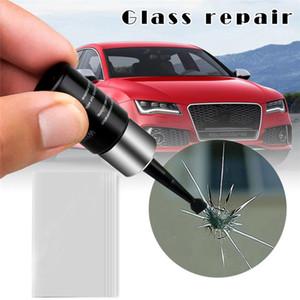 Kit de reparação do carro do carro DIY DIY profissional zero janela de vidro Crack restaurar janela do carro ferramenta de reparo janela de polimento