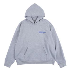 Осень Мужские толстовки Hip Hop вышивки Письмо Printed Casual Свободные фуфайки Streetwear пуловер зимы с капюшоном Мужские Tops