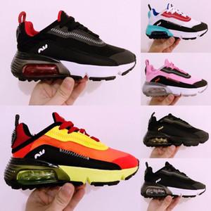 Nike Air Max Vapormax 2090 Vente pas cher Baskets Enfant Chaussures Enfants Sports Chaussures Pour Enfants Filles Garçons Formateurs nourrisson Chaussures de course Taille 28-35