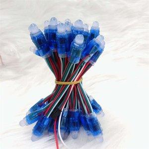 Stringa di lampada a colori a LED Strisce blu Cartelli pubblicitari Lampade perforate Parole luminescenti Luci pixel Nuovo arrivo 0 45lh L1