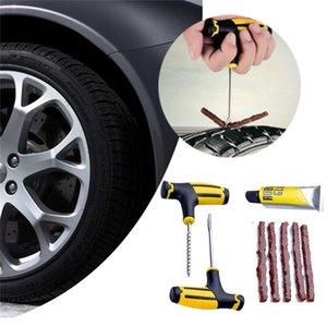 CARPRIE pneumatici Strumenti di riparazione auto senza camera d'aria della gomma del pneumatico di riparazione pneumatici Plug Kit riparazione Ago Patch Fix je19 Strumento Per Motor Car