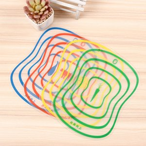 Plastic Chopping Board Non Slip Frosted Kitchen Cutting Board Vegetable Meat Cutting Tools Kitchen Accessories Chopping Boards