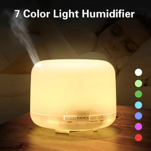 400ml Electric Ultrasonic Aroma Air Humidifier Essential Oil Diffuser Purifier Mist Maker 7 LED Light for Home Office Car