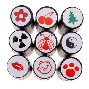Perfeclan Quick-dry Plastikgolfball Stamper Stempel Marker Impression Seal Golf Club Zubehör Symbol Golfer-Andenken-Geschenk