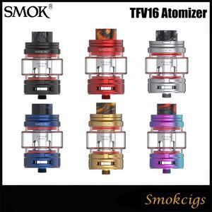 Authentique SMOK TFV16 Réservoir 9ML e-Jus énorme Capacité Top Remplissage TFV16 Bobine de maille 0.17ohm Bobine de maille double 0.12ohm VS TFV12 PRINCE