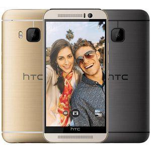 Восстановленное Оригинальный HTC ONE M9 США ЕС разблокирована 5,0 дюймовый окта Ядро 3GB RAM 32GB ROM 20MP 4G LTE разблокирована мобильный сотовый телефон бесплатно DHL 1шт
