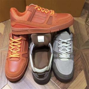Hommes Flat Entraîneur espadrille Top qualité Chaussures Hommes cuir véritable Semelle extérieure en caoutchouc Vintage Formateurs Outdoor Chaussures Casual Taille US 11