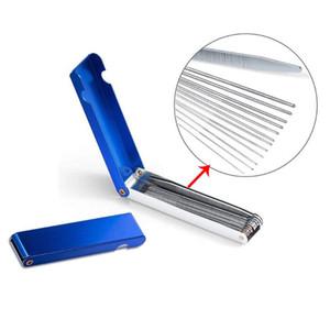1pcs Carburateur Brosse de nettoyage aiguillon Équipement Tattoo Airbrush en acier inoxydable Matériel outil Pinceau en nylon pour la compensation