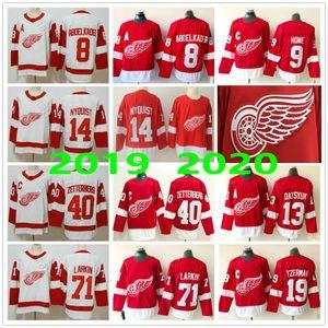 Adam Bayan Çocuk Gençlik Detroit Red Wings 8. Justin Abdelkader Larkin 9 Gordie Howe 14 Gustav Nyquist 13 Pavel Datsyuk 19 Steve Yzerman Formalar