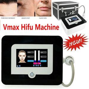 Новые хорошие результаты Hifu Face Lift High Intensity Focused Ultrasound Anti Aging морщин удаления Vmax Hifu машина с 3 Картриджи DHL