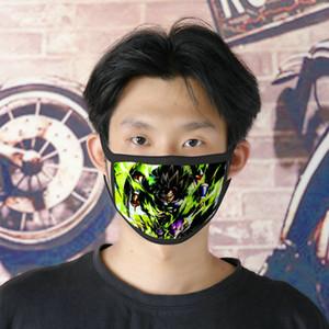 Free Dhl Shipping Dragon Ball 0620 Cute Face Mask Cartoon Facemasks For Women Ice Silk Double Mask Masque Tissu Tapabocas Cubreboca EACiY