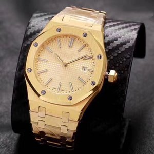 orologi di marca, royal oak automaticmechanical watches.Model15202ba.OO.1240 BA. 01.Imported vetro zaffiro, acciaio fine 316, dimensioni 42 millimetri