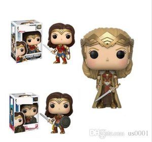 China Funko POP DC Justice League Wonder Woman Collection Model Movie Action Figure Collectible toys PVC for Children Birthday Gifts