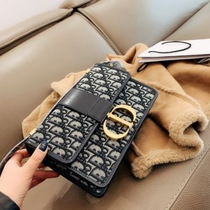 2020 Designer Shopping Bag Embroidered canvas Mini book tote High Quality Tote Bag Luxury Handbag Brand women bags Designer Shoulder Bag
